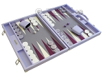 picture of Hector Saxe Leatherette Backgammon Set - Parma (2 of 12)