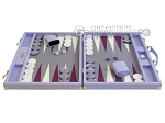 picture of Hector Saxe Leatherette Backgammon Set - Parma (4 of 12)