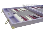 picture of Hector Saxe Leatherette Backgammon Set - Parma (5 of 12)