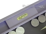 picture of Hector Saxe Leatherette Backgammon Set - Parma (7 of 12)