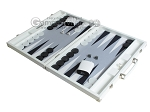 picture of Hector Saxe Leatherette Backgammon Set - White (3 of 12)