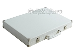 picture of Hector Saxe Leatherette Backgammon Set - White (11 of 12)