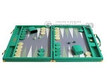picture of Hector Saxe Faux Lizard Backgammon Set - Anise Green (4 of 12)