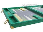 picture of Hector Saxe Faux Lizard Backgammon Set - Anise Green (5 of 12)