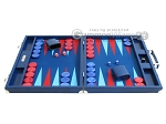 picture of Hector Saxe Faux Lizard Backgammon Set - Blue (4 of 12)