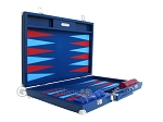 picture of Hector Saxe Faux Lizard Backgammon Set - Blue (10 of 12)