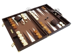 picture of Hector Saxe Faux Lizard Backgammon Set - Brown (2 of 12)