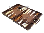 picture of Hector Saxe Faux Lizard Backgammon Set - Brown (3 of 12)