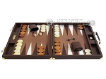 picture of Hector Saxe Faux Lizard Backgammon Set - Brown (4 of 12)