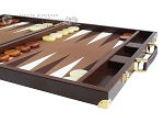 picture of Hector Saxe Faux Lizard Backgammon Set - Brown (6 of 12)