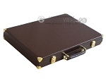 picture of Hector Saxe Faux Lizard Backgammon Set - Brown (11 of 12)