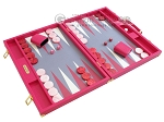 picture of Hector Saxe Faux Lizard Backgammon Set - Fuchsia (2 of 12)