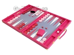 picture of Hector Saxe Faux Lizard Backgammon Set - Fuchsia (3 of 12)