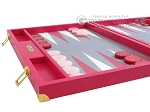 picture of Hector Saxe Faux Lizard Backgammon Set - Fuchsia (5 of 12)