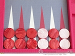 picture of Hector Saxe Faux Lizard Backgammon Set - Fuchsia (8 of 12)