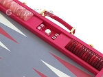 picture of Hector Saxe Faux Lizard Backgammon Set - Fuchsia (9 of 12)