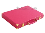 picture of Hector Saxe Faux Lizard Backgammon Set - Fuchsia (11 of 12)