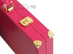 picture of Hector Saxe Faux Lizard Backgammon Set - Fuchsia (12 of 12)