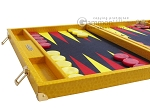 picture of Hector Saxe Faux Lizard Backgammon Set - Yellow (5 of 12)
