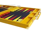 picture of Hector Saxe Faux Lizard Backgammon Set - Yellow (6 of 12)