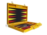 picture of Hector Saxe Faux Lizard Backgammon Set - Yellow (10 of 12)