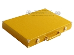 picture of Hector Saxe Faux Lizard Backgammon Set - Yellow (11 of 12)