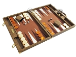 picture of Hector Saxe Faux Snake Backgammon Set - Beige (2 of 12)