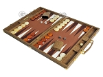 picture of Hector Saxe Faux Snake Backgammon Set - Beige (3 of 12)