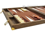 picture of Hector Saxe Faux Snake Backgammon Set - Beige (5 of 12)