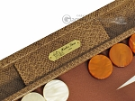 picture of Hector Saxe Faux Snake Backgammon Set - Beige (7 of 12)