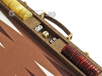 picture of Hector Saxe Faux Snake Backgammon Set - Beige (9 of 12)