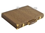 picture of Hector Saxe Faux Snake Backgammon Set - Beige (11 of 12)