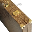 picture of Hector Saxe Faux Snake Backgammon Set - Beige (12 of 12)