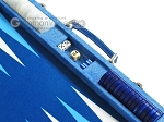 picture of Hector Saxe Faux Snake Backgammon Set - Light Blue (9 of 12)