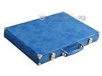 picture of Hector Saxe Faux Snake Backgammon Set - Light Blue (11 of 12)