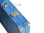 picture of Hector Saxe Faux Snake Backgammon Set - Light Blue (12 of 12)