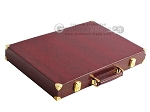 picture of Hector Saxe Faux Snake Backgammon Set - Maroon (11 of 12)