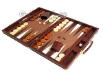 picture of Hector Saxe Faux Croco Backgammon Set - Brown (3 of 12)