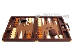 picture of Hector Saxe Faux Croco Backgammon Set - Brown (4 of 12)