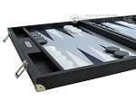picture of Hector Saxe Leatherette Backgammon Set - Black (5 of 12)