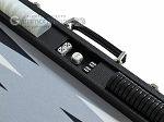picture of Hector Saxe Leatherette Backgammon Set - Black (9 of 12)