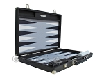 picture of Hector Saxe Leatherette Backgammon Set - Black (10 of 12)