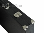 picture of Hector Saxe Leatherette Backgammon Set - Black (12 of 12)