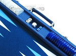 picture of Hector Saxe Leatherette Backgammon Set - Blue (9 of 12)