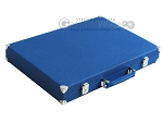picture of Hector Saxe Leatherette Backgammon Set - Blue (11 of 12)