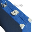 picture of Hector Saxe Leatherette Backgammon Set - Blue (12 of 12)