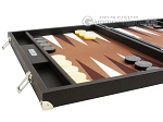 picture of Hector Saxe Leatherette Backgammon Set - Chocolate (5 of 12)