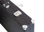 picture of Hector Saxe Leatherette Backgammon Set - Chocolate (12 of 12)