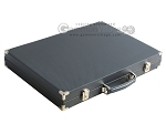 picture of Hector Saxe Carbon Linen/Leather Backgammon Set - Grey (11 of 12)