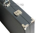 picture of Hector Saxe Carbon Linen/Leather Backgammon Set - Grey (12 of 12)